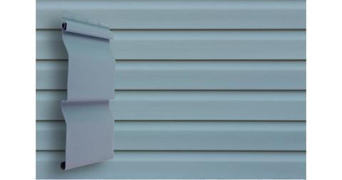 Виниловый сайдинг Гранд Лайн корабельная доска слим 3.0 D 4 голубой
