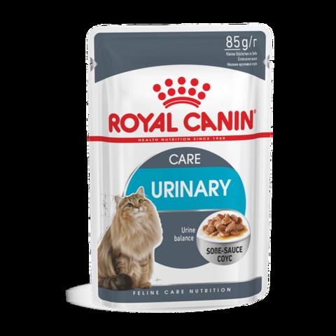 Royal Canin Urinary care Консервы для взрослых кошек для профилактики МКБ кусочки в соусе (Пауч)