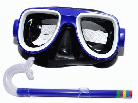 Набор для плавания, детский. Маска с иллюминатором. Оправа из ударостойкой пластмассы. 2008-2