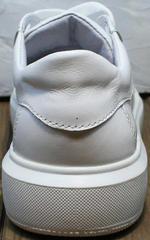 Женские кожаные кроссовки сникерсы Maria Sonet 274k All White.