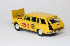 VAZ-2102 Lada Rally #43 yellow Agat Mossar Tantal 1:43