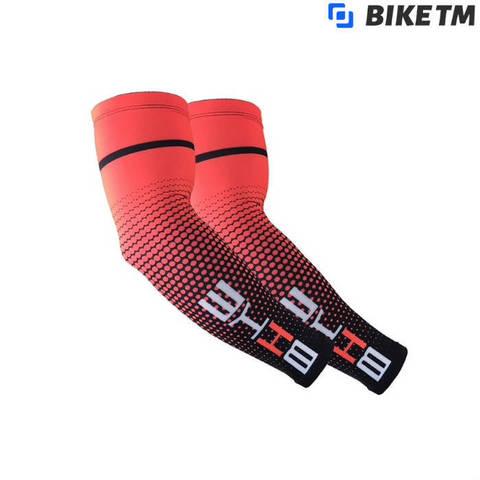 Компрессионные рукава BIKE TM Red