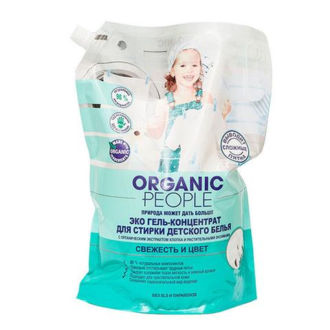 ORGANIC PEOPLE эко-гель для стирки детского белья 2 л.