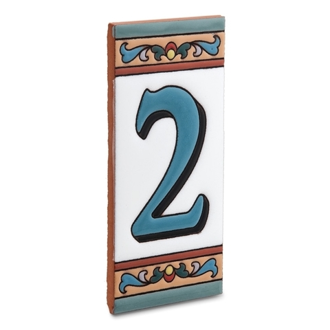 Цифра 2 для номера дома