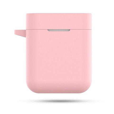Чехол на Xiaomi Airdots Pro силиконовый (розовый)