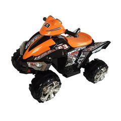Детский электроквадроцикл BARTY М004МР оранжевый