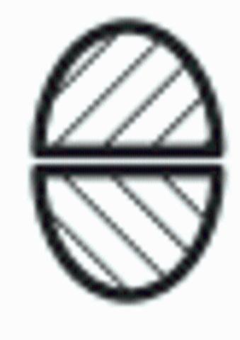 Полукругл. плоскогубцы с длинн. губками, полирован. 160 мм
