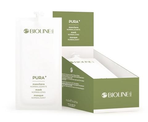 Маска нормализующая Bioline PURA+ 20 мл х 10 патчи