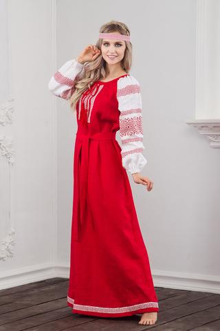 Русское-народное платье Плодородие