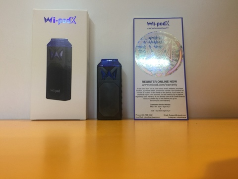Набор Wi-pod X kit by SmokingVapor 350mAh 1,8мл