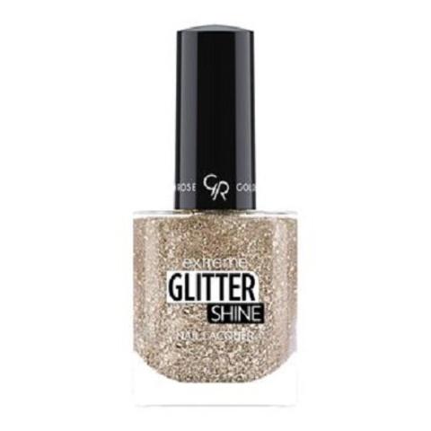 Гель-лак Glitter Shine Nail Lacquer Golden Rose, 207