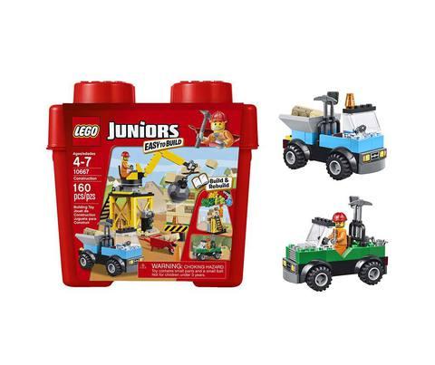 LEGO Juniors: Стройка 10667 — Construction — Лего Джуниорс Подростки