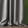 Комплект штор с подхватами Кенна темно-серый