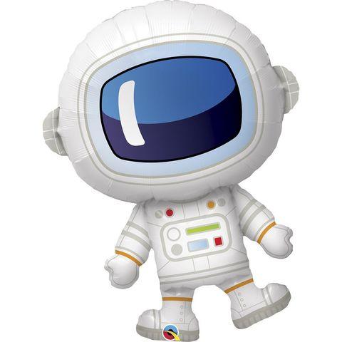 Воздушный шар фигура Космонавт, 94 см