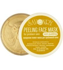 Пилинг-маска для лица Кукурузный пудинг (для проблемной кожи), 150g TM Savonry
