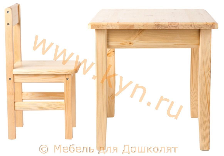 Стол со стульчиком 3-5 фото2