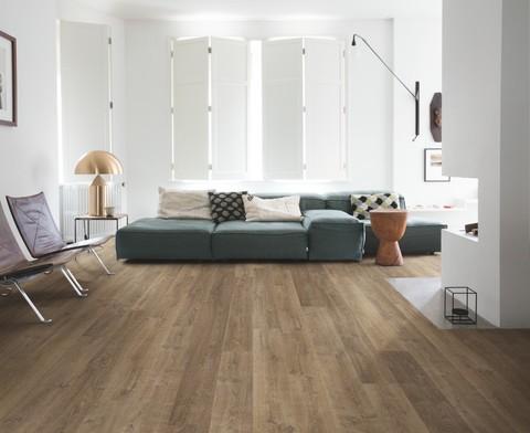 Riva Oak brown   Ламинат QUICK-STEP EL3579