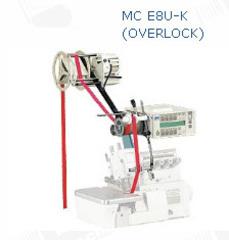 Фото: Электронное устройство для дозированной подачи резинки (тесьмы), с верхней подачей. Под оверлок MC E8U-K