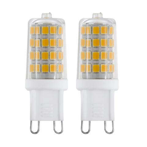 Лампа (комплект 2 шт.) Eglo LED LM-LED-G9 2х3W 360Lm 3000K G9-LED 11674