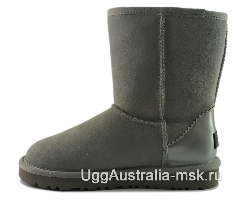 UGG Classic Short II Metallic Grey-Violet