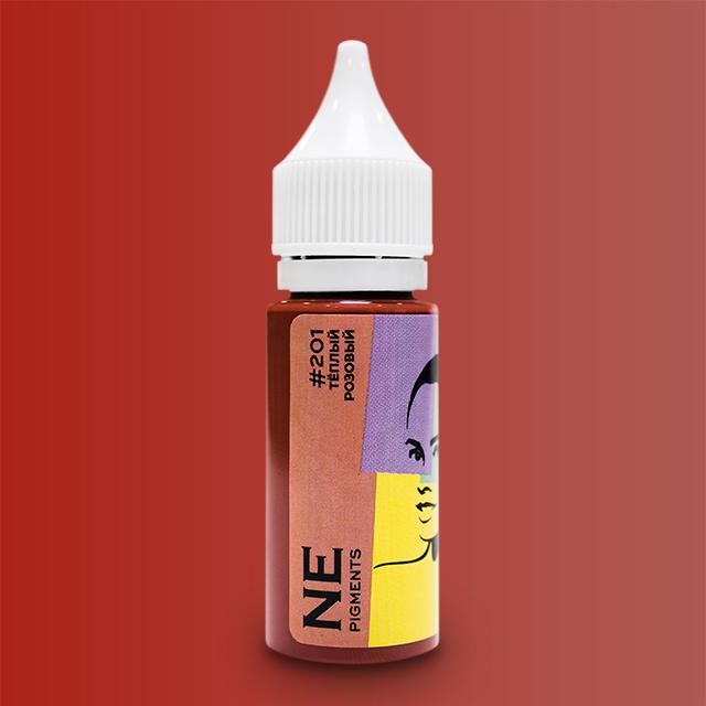 Пигмент NE Pigments #201 Теплый розовый