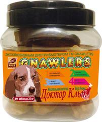 Лакомство для собак до 25 кг Green Qzin Жевательная косточка Доктор Клык со вкусом бекона