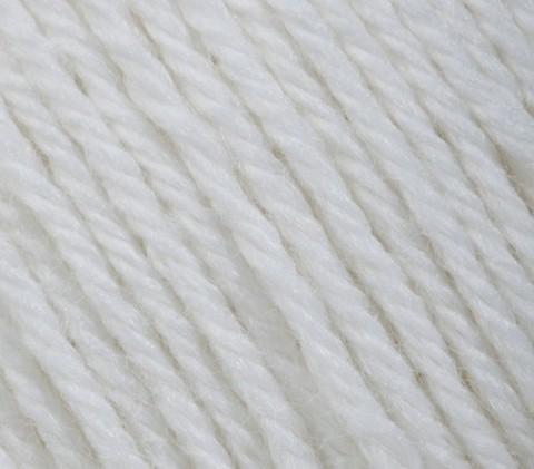 Пряжа Gazzal Baby Wool белый 801
