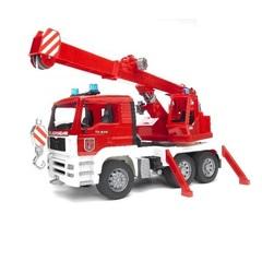 Bruder Пожарная машина-автокран MAN (с модулем со световыми и звуковыми эффектами) (02-770)