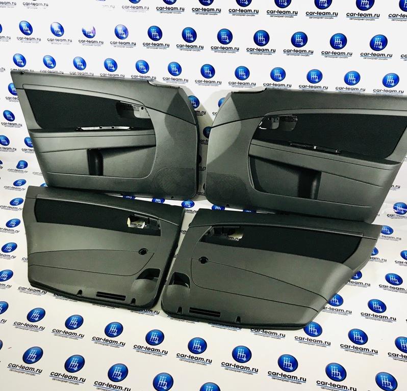 Обшивки заводские дверей на Лада Приора 2 рестайлинг