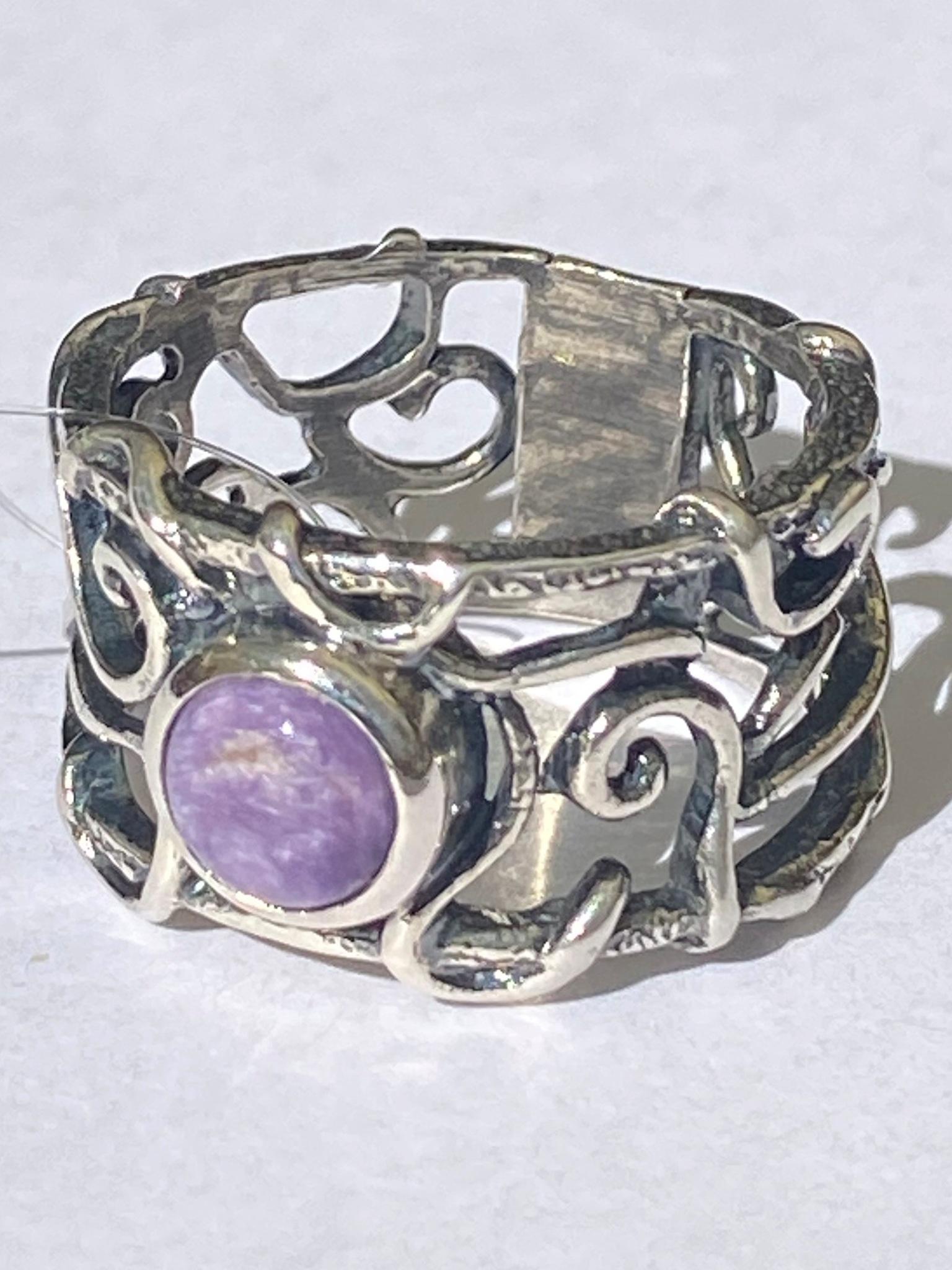 Арабеска ш(кольцо из серебра)