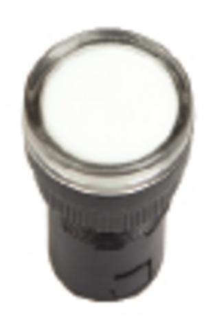 Лампа AD-22DS(LED)матрица d22мм белый 12В AC/DC TDM