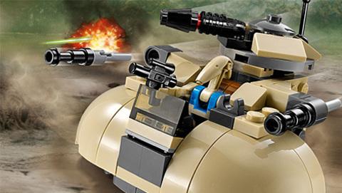 LEGO Star Wars: Бронированный штурмовой танк сепаратистов 75029 — AAT — Лего Стар ворз Звёздные войны Эпизод