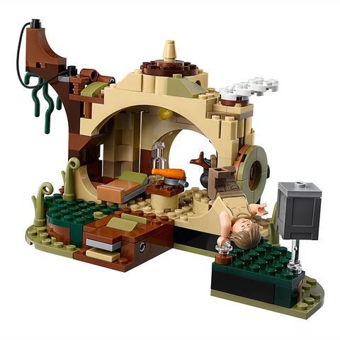 LEGO Star Wars: Хижина Йоды 75208 — Yoda's Hut — Лего Звездные войны Стар Ворз