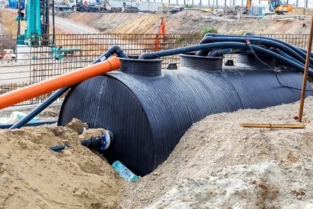 СЗЗ для реконструируемых локальных очистных сооружений поверхностного стока в составе проектной документации