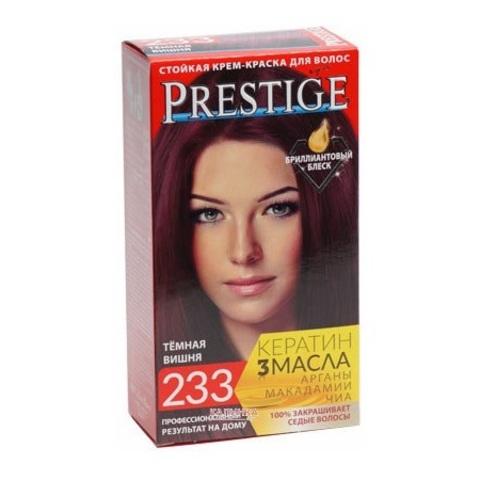 Краска для волос Prestige 233 - Темная вишня