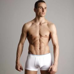 Мужские трусы боксеры Calvin Klein Tech Cool Cotton White