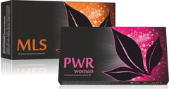 APL. Набор: аккумулированные драже APLGO MLS+PWR woman для избавления от паразитов, поддержания женского здоровья
