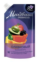 """Майонез """"Московский Провансаль"""" оливковый 67% 220мл"""