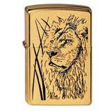 204B Proud Lion Зажигалка ZIPPO