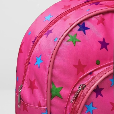Рюкзак детский розовый Звездочки