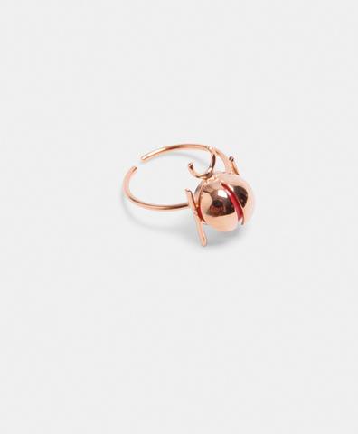 Кольцо Ladybug Red