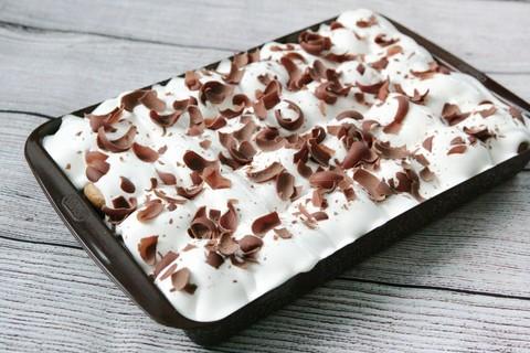 Торт Профитроль белый (1.1кг / ITALY)