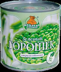 """Зеленый горошек """"Медведь любимый"""" 425 мл"""