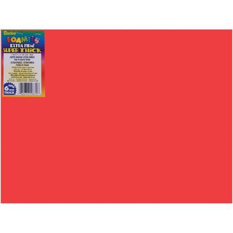 Фоамиран Foam Sheet 23х30,5 см /6mm -Red-1шт.