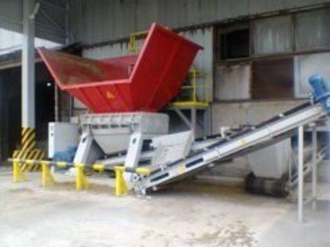 Промышленные шредеры / измельчители отходов