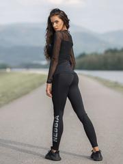 Женские лосины Nebbia Flash-Mesh leggings 663 black