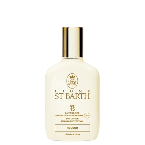 Солнцезащитный лосьон c маслом помадного дерева SPF 15 / Ligne St. Barth Sunscreen Lotion Roucou SPF15