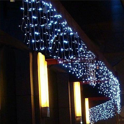 Бахрома 10 метров на 0,7 м светодиодная уличная