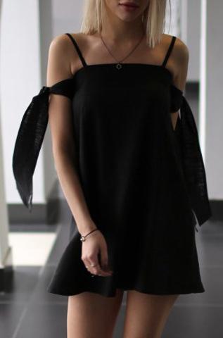 Платье «Sash Black»
