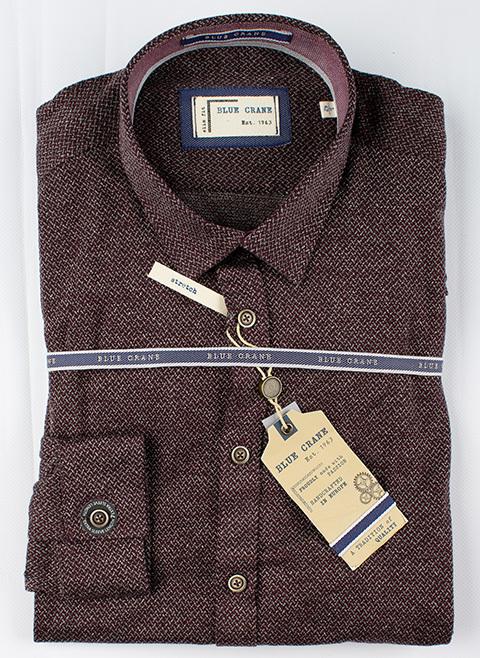 Рубашка Blue Crane slim fit 3100195-490-490-220